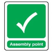 Safe Safety Sign - Assembly Point 040